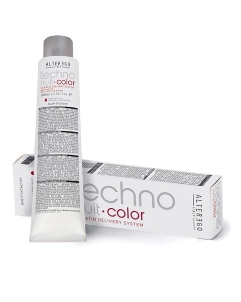 رنگ مو دائمی  تکنوفرویت آلتر اگو سری رنگ خاکستری تند ( alter ego technofruit color intense ash)