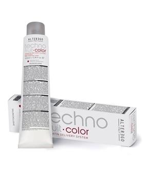 رنگ مو تکنو فرویت آلتر اگو سری رنگ قهوه ای سوسنی (alter ego italy techno fruit hair coloring cream brown iris)