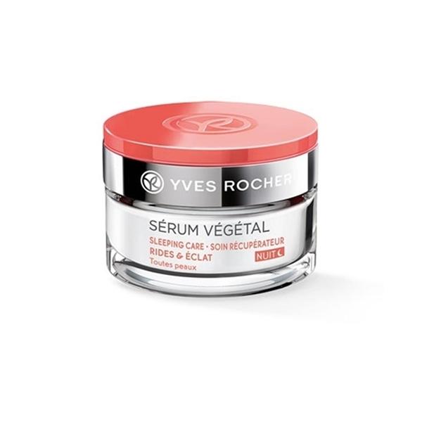 YVES ROCHER Serum Vegetal 3 Wrinkles & Radiance Dazzling Night Cream