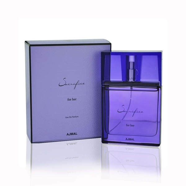 ادو پرفیوم زنانه اجمل مدل Sacrifice -  حجم 50 میلی لیتر   Ajmal Sacrifice Eau De Parfum For Women - 50ml