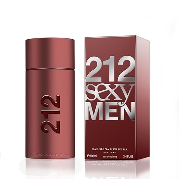 تصویر ادکلن مردانه کارولینا هررا مدل س.ک.س.ی من 212