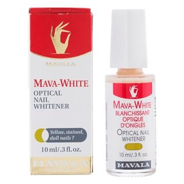 تصویر محلول بهبود دهنده  رنگ ناخن مدل ماوا وایت ماوالا