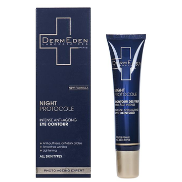 DermEden Night Protocole Intensive Anti-Aging Eye Contour 15ml
