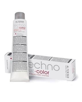 رنگ مو دائمی  تکنوفرویت آلتر اگو سری رنگ ماهگونی( alter ego technofruit color mahogany)