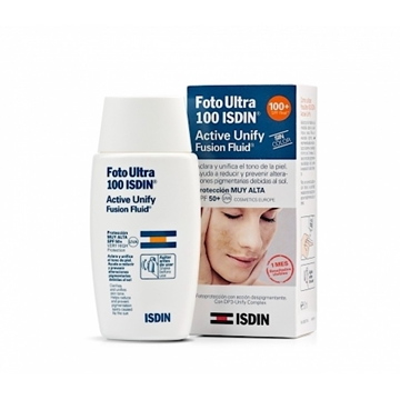 FotoUltra 100 ISDIN  Active Unity Fusion Fluid  SPF 50+