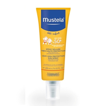 اسپری ضد آفتاب قوی SPF 50 موستلا