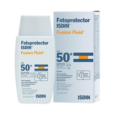 Fotoprotector ISDIN Fusion Fluid Mineral SPF 50+