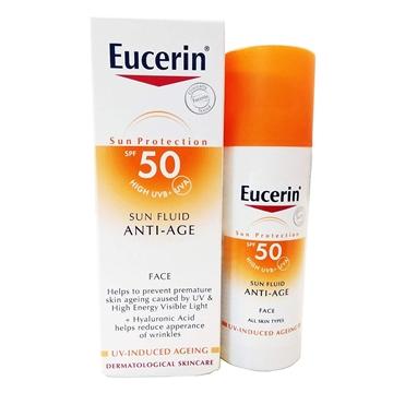 تصویر فلوئيد ضد آفتاب و ضد چروک اوسرين (Spf 50)