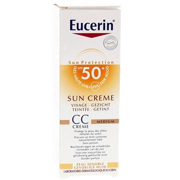 تصویر کرم CC ضد آفتاب رنگی  اوسرین (SPF50)