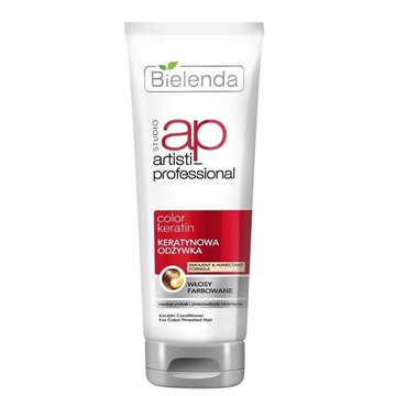 Bielenda Artisti Professional Color Keratin Cleansing Conditioner