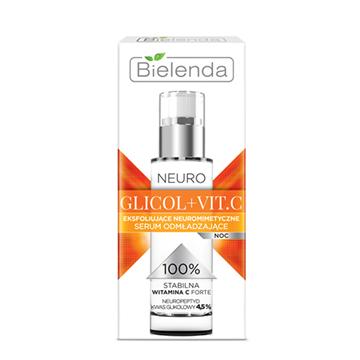 Bielenda NEURO GLYCOL + VIT. C Exfoliating Face Serum Night