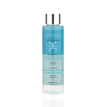 Gli Elementi Geothermal waterproof eye make-up remover