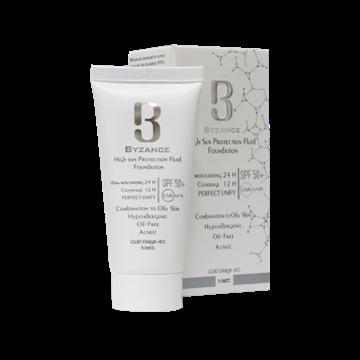 Byzance High Sun Protection Fluid Foundation SPF50+ 30 ml
