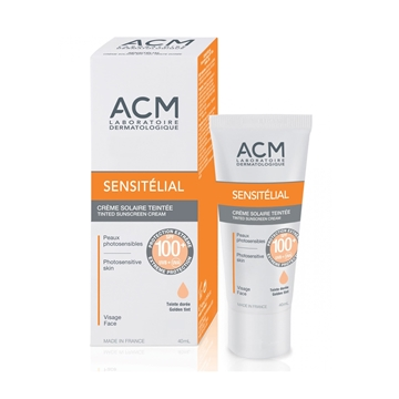 ACM SENSITELIAL SUNSCREEN SPF 100 GOLDEN TINT