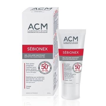 ACM SEBIONEX SPF 50+ MATTIFYING SUNSCREEN GEL