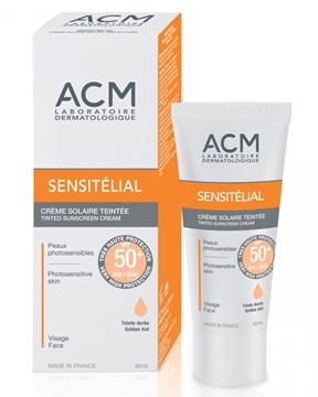 ACM SENSITELIAL SUNSCREEN SPF50 GOLDEN TINT