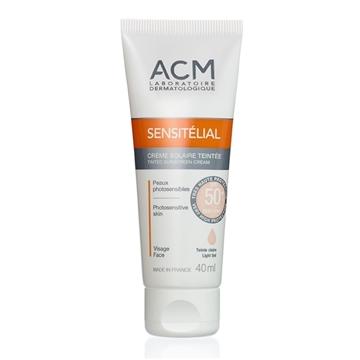 ACM SENSITELIAL SUNSCREEN SPF50 LIGHT TINT