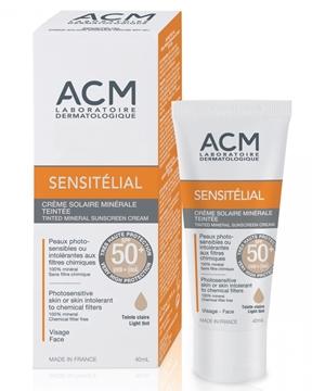 Sensitelial Tinted Mineral Sunscreen SPF50