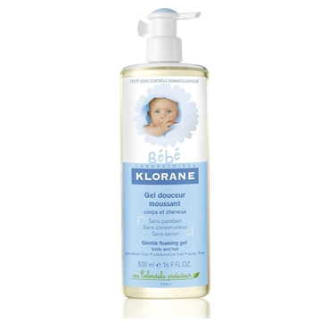 Klorane Baby Gentle Foaming Gel 500ml
