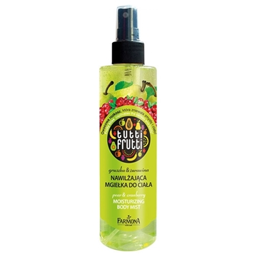 Farmona Tutti Frutti Pear and Cranberry Moisturizing Body Mist