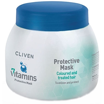 Cliven Protective Mask For Coloured and Treated Hair 500ml