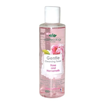 Cosmecology Gentle Cleansing Toner Rose And Hamamelis